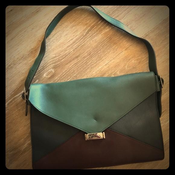 32f35e1137c9 Celine Handbags - Celine envelope clutch calfskin leather purse bag